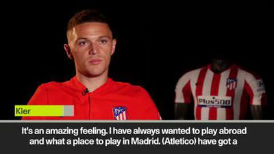 'Amazing feeling' to play abroad, says Trippier after Atletico Madrid move