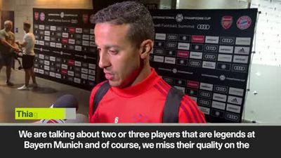 Alcantara on missing Ribery and Robben and Bayerns' targets for next season