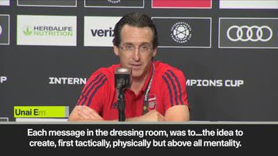 'We can reduce distance with the other teams' says Arsenal coach Emery
