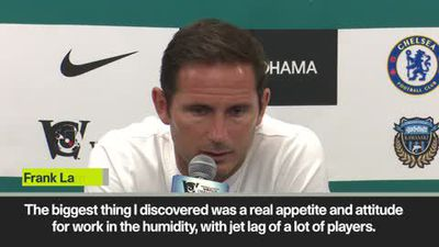 Lampard praises his squad after losing to Kawasaki Frontale in last minute winner