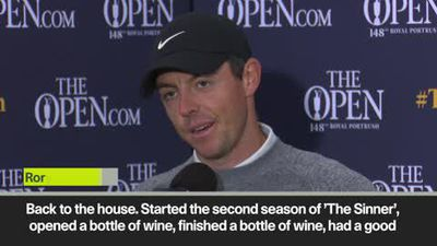 'I finished a bottle of wine' – McIlroy on how he recovered from a disappointing first round
