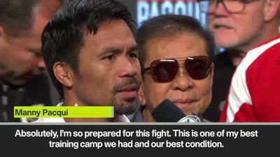 'I want to prove something' - Pacquiao on his bout against Thurman