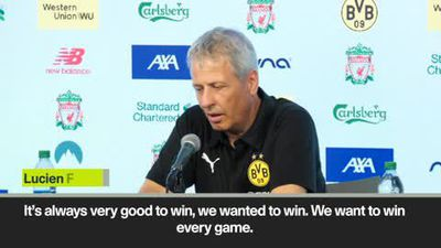 'We want to win every game' Lucien Favre after beating Liverpool 3-2