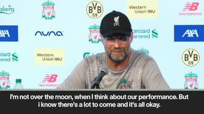 'I'm not over the moon but it's okay' Kloop after 3-2 defeat to Borussia Dortmund