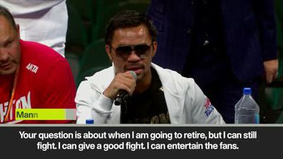 Pacquiao says he has no plans to retire after defeatingThurman
