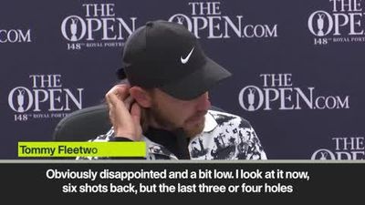 '14 was the killer' Disappointed Open runner-up Fleetwood