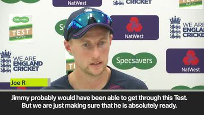 Root confident of Anderson fitness for The Ashes, but won't play against Ireland