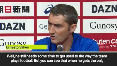 'Griezmann needs to learn a lot' Valverde