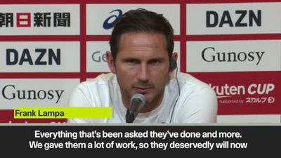 Lampard - I'm happy with our Japan trip