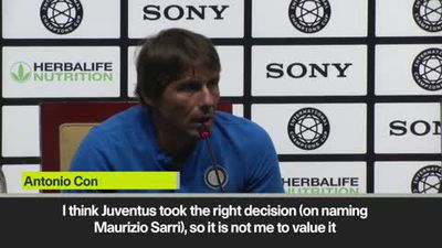 'Juventus made the right call on Sarri' - Conte