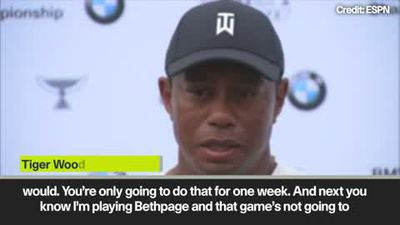 'You kidding me?' - Tiger Woods reacts to Augusta questions