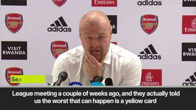 'The game's in a really poor state' Burnley's Sean Dyche