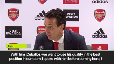 'He started at no.10 and finished at No.8' Emery on Dani Ceballos