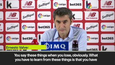 Valverde responds to Pique admission that Barcelona weren't ready