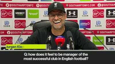 Klopp praises 'mentality giants' Liverpool for avoiding banana skin at Southampton