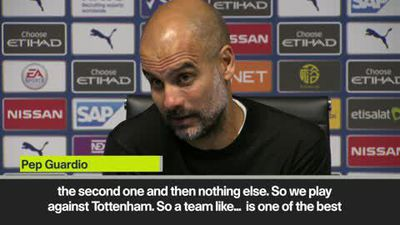 'Deja vu' - Guardiola on VAR frustration after Tottenham draw
