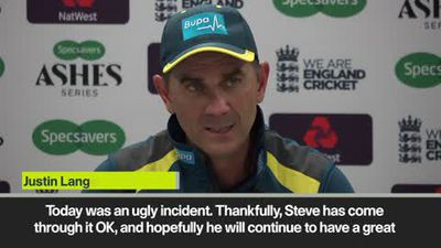 'An ugly incident' Smith injury off Archer ball left Langer concerned
