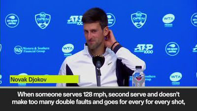 Djokovic on losing to Medvedev in Cincinnati Masters semi-final