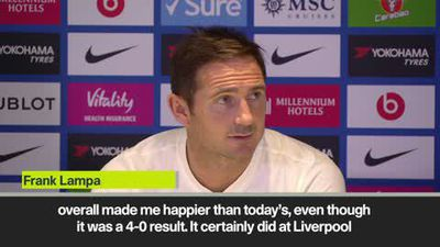 'Man Utd 4-0 loss was a better performance' - Lampard admits Chelsea must improve