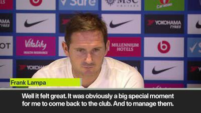 'Special moment' Lampard on returning to Stamford Bridge as Chelsea manager