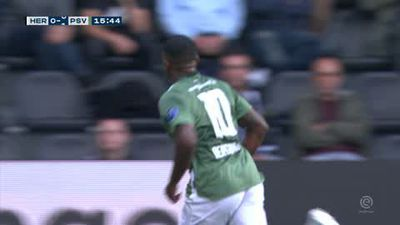 Reported Man Utd target Bergwijn scores in PSV 2-0 away win
