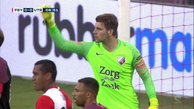 Brilliant jinking run for Utrecht goal before Feyenoord salavaged 1-1 draw