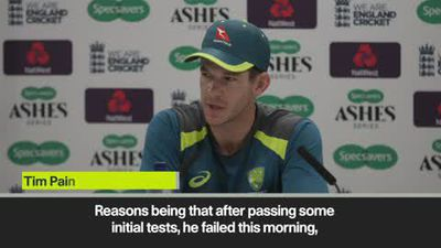 Steve Smith injury update from Australia captain Tim Paine