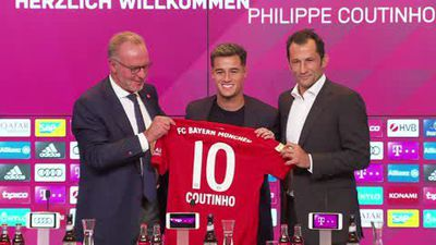 There's pressure on me - new Bayern signing Coutinho