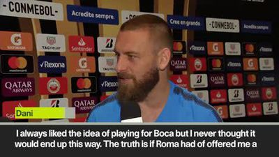 'If Roma had made offer I'd have stayed' De Rossi at Boca