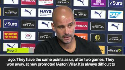 'Bournemouth always tough' Guardiola