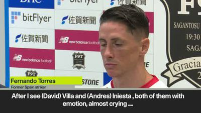 I don't feel sad, I feel happy - Torres on retirement