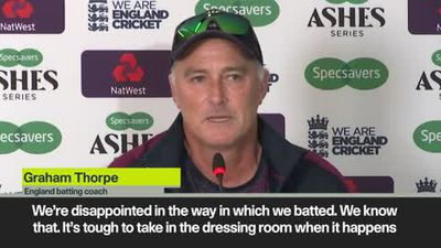 We can still win - England batting coach Thorpe