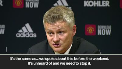 Solskjaer 'lost for words' as Rashford suffers racist abuse after missing penalty
