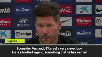 'Torres is a football legend' – Simeone praises him after retirement
