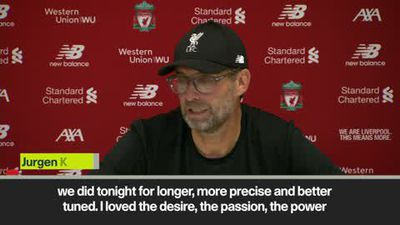 Klopp hails 'desire and passion' as Liverpool beat Arsenal 3-1