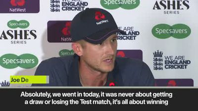 'A lot of excitement in England's the dressing room' Joe Denly