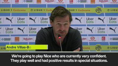 AVB says Vieira's Nice side are well drilled ahead of Ligue 1 clash with Marseille