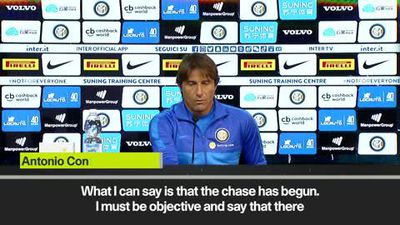 Conte sets his expectations high at Inter as the 'chase' for the Serie A title gets underway