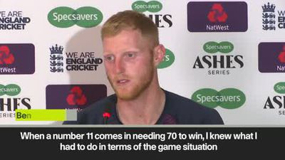 Ben Stokes pays tribute to Jack Leach following Ashes Test win