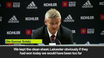 Man Utd's title hopes assessed by Solskjaer after Leicester win