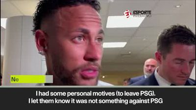 Neymar admits he tried to leave PSG in the summer