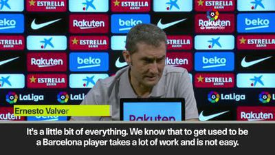 Valverde to protect Fati from Messi comparisons after the rising star scored in Barcelona's 5-2 w...