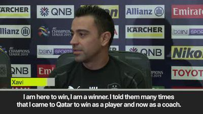 'I want to win this Champions League' Xavi