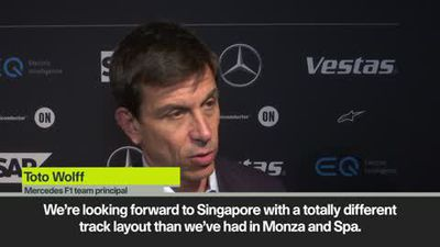 'Six-way fight' for the win in Singapore lays in wait says Mercedes boss Toto Wolff