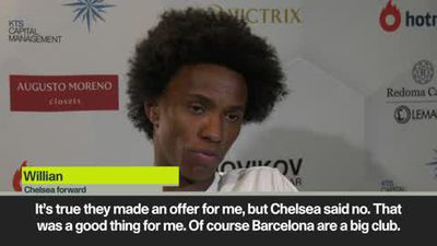 Willian reveals his reasons for rejecting Barcelona in favour of staying at Chelsea