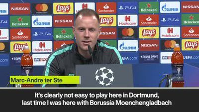 Ter Stegen hopes to start UCL campaign with a win in Dortmund