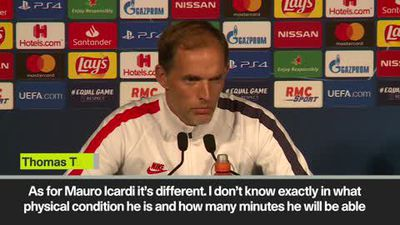 'Icardi a doubt for Real Madrid clash' Tuchel