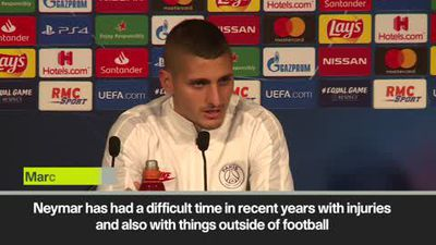 "'Neymar was ""destabilized"" but he will help PSG' Verratti"