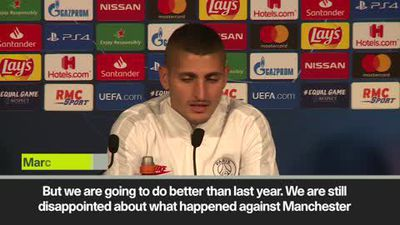 'PSG still disappointed over last year's UCL exit to Man Utd' Verratti