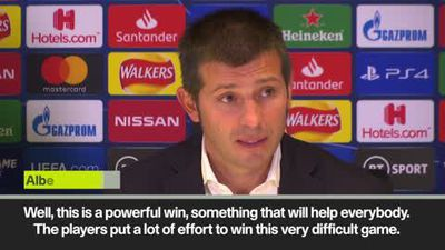 Valencia coach Celades hails 'powerful win' at Stamford Bridge